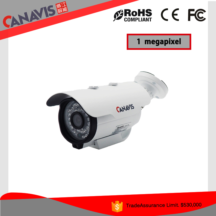 High definition 720p bullet security system cctv 1.0mp ahd camera