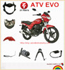 Hot Selling ATV EVO motorcycle parts for ITALIKA repuestos para motocicleta