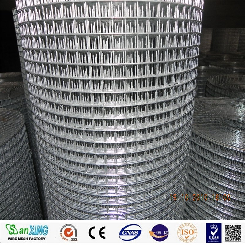 1/4'' hole size welded wire mesh/ welded wire mesh pannel/ wire mesh panel
