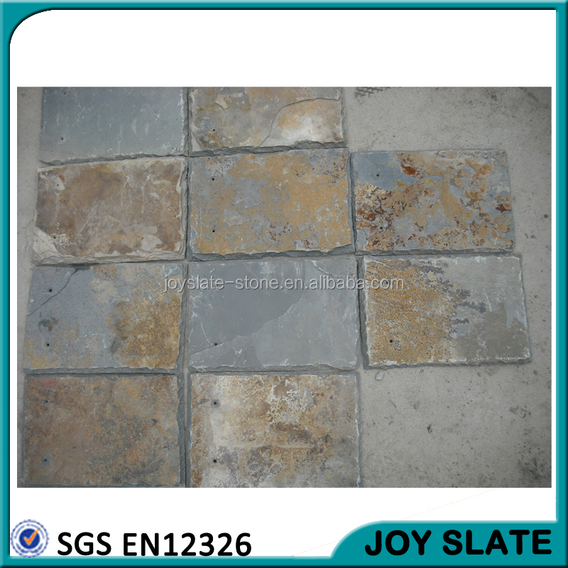 Heat resistant flexible sheet natural slate lowes roof tile / roofing shingles prices