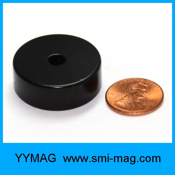 High quality ferrite and neodymium ring magnet for sale