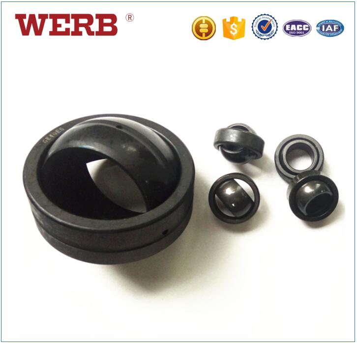 High Pressure Gcr 15 GEG12ES Threaded Spherical Plain Shaft Bearing