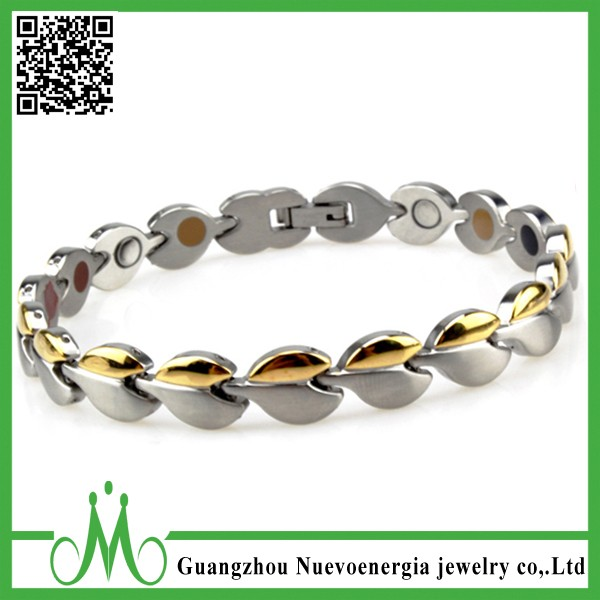 Elegant Womens Magnetic Therapy Bracelet Pain Relief for Arthritis and Carpal Tunnel