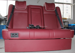 Luxury sofa bed Three seat Auto seat frame high quality for MPV