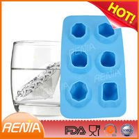 RENJIA Silicone Party Maker,3d Diamond ice,jewels tray