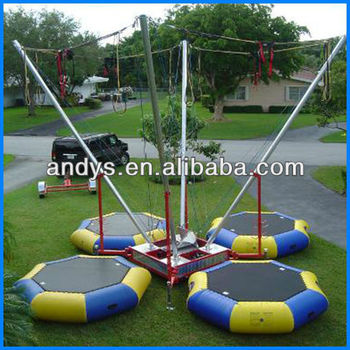 2013 commercial bungee trampoline harness for adults and kids