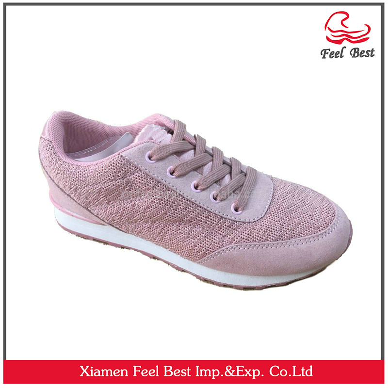 New arrival hot sell women 2017 fashion design casual shoes
