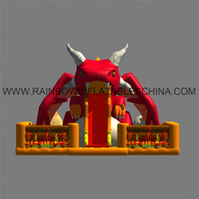 Dragon Inflatable Castle Funcity,Inflatable Playground,Air Inflatable Park
