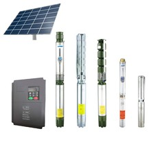50W-100KW solar water pump solar submersible pump with 1-120 m3/h water flow