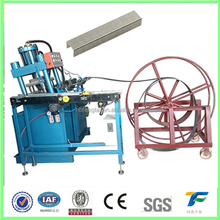 Office Staple Pin Making Machine Wire Forming Flattening Machine
