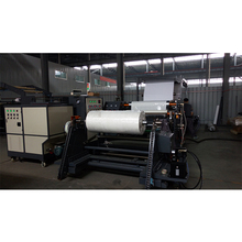 Hot melt band-aid medical tape laminating coating making machine