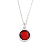 Wedding Gift Deep Red Color Birthstone