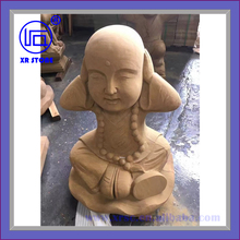 yellow stone statue for garden decoration