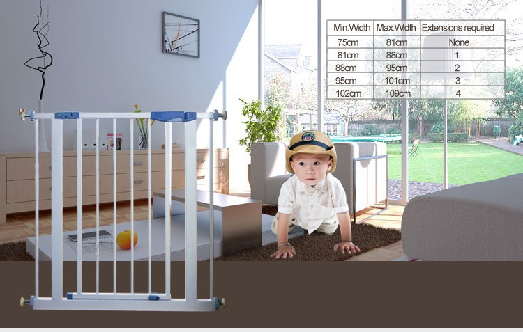 wholesale metal baby bed indoor floor baby fence garden fence