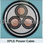 Low Voltag cable/double copper conductor XLPE insulation PVC sheathed steel wire armoured power cable CU/XLPE/SWA/PVC IEC60502-1