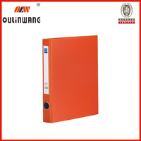 Plastic 2 ring binder folder