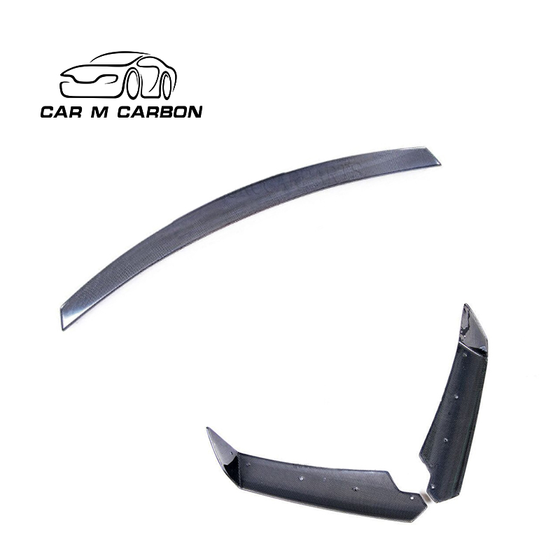 CARBON FIBER REAR SPOILER REAR WING TRUNK SPOILER FOR C7 <strong>Z06</strong> Style REAR BUMPER SPOILER
