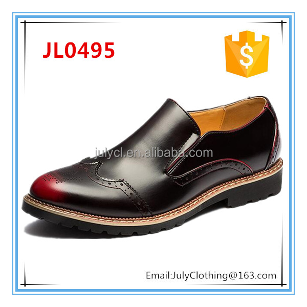 2013 England Mens Pointed Toe Brogue Dress Shoes