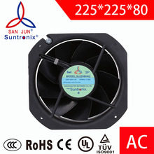 Suntronix industrial ac axial fan 225*225*80mm 110v.DIY cooling exhaust fan motor ventilation fans projects.