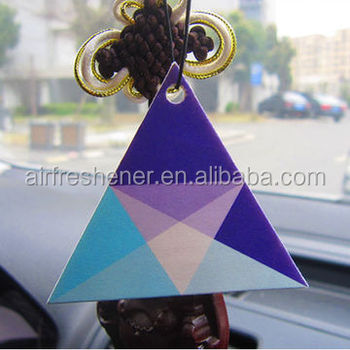 hanging paper air freshener promotion gift coffee scented air freshener