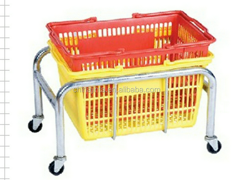 Factory price chrome plated shopping basket latest products in market