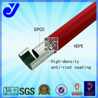 JY-4000DH-P|PE coated pipe|wholesale red pipe forming machine| plastic lean pipe
