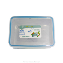 High selling 0.55 liter meat storage containers chicken feed storage bin take away food containers with clear lid