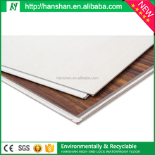 plastic floor tiles 2016 Best Price Suface lamination wearable layer pvc flooring price for indoor