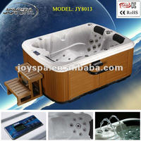 Luxury massage 2 person outdoor spa bathtub JY8013