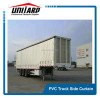 Cold Reistant 40 Feet Container/Truck Side Curtains Tarpaulin