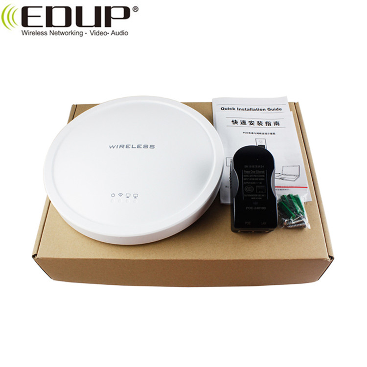 2.4Ghz 300Mbps Atheros AR9341 Chipset ceiling-mount design Access point Wireless AP