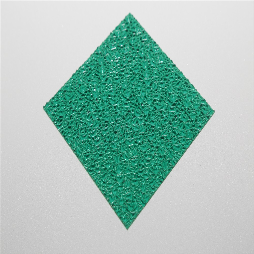 plastic diamond embossed polycarbonate sheet
