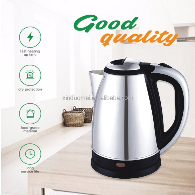 Kichen <strong>appliances</strong> electric household 1.8l electrical water boiler insulated ul fast boil kettle durable stainless steel kettle