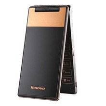 A588T GSM Phones 800x480 Lenovo Mobile 2250mAh Dual SIM Low Price Senior Flip Cell Phone