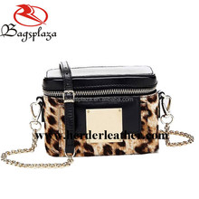 Chinese bag factory OEM Leopard grain female bag 2016 handbag