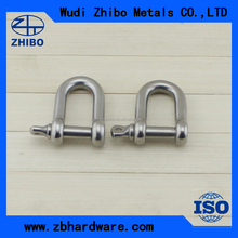 dee shackle,marine shackle,roller shackle