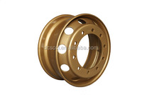 Auto parts truck wheel rim steel material supply from brand manufacturers