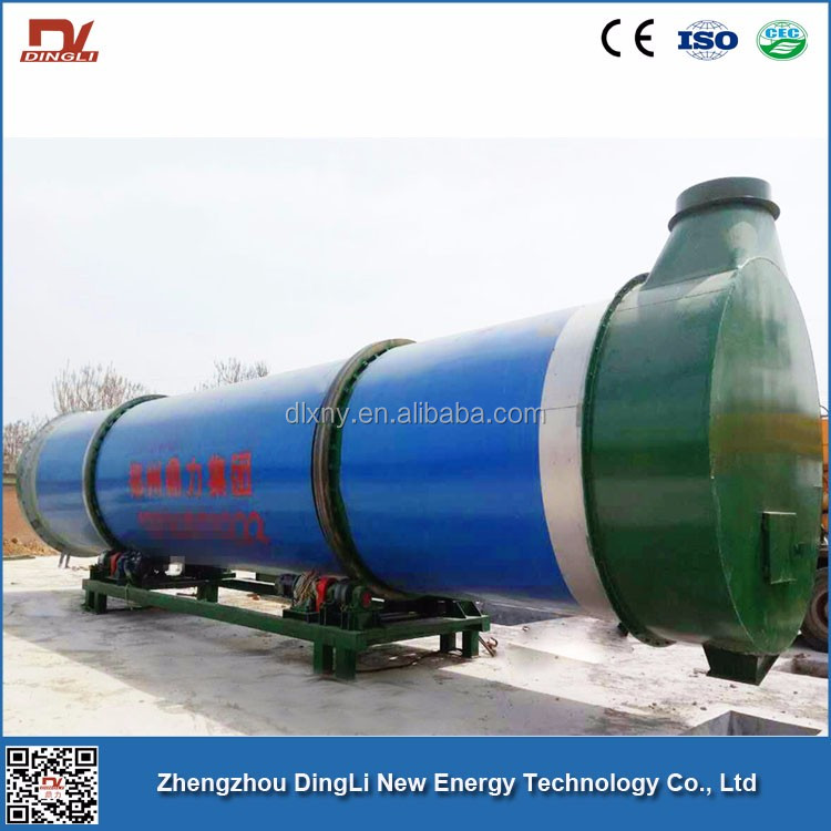 6.4t/h DingLi Brand Coffee Shell Drum Dryer for Honduras Mexico Coffee Bean Processing Plant