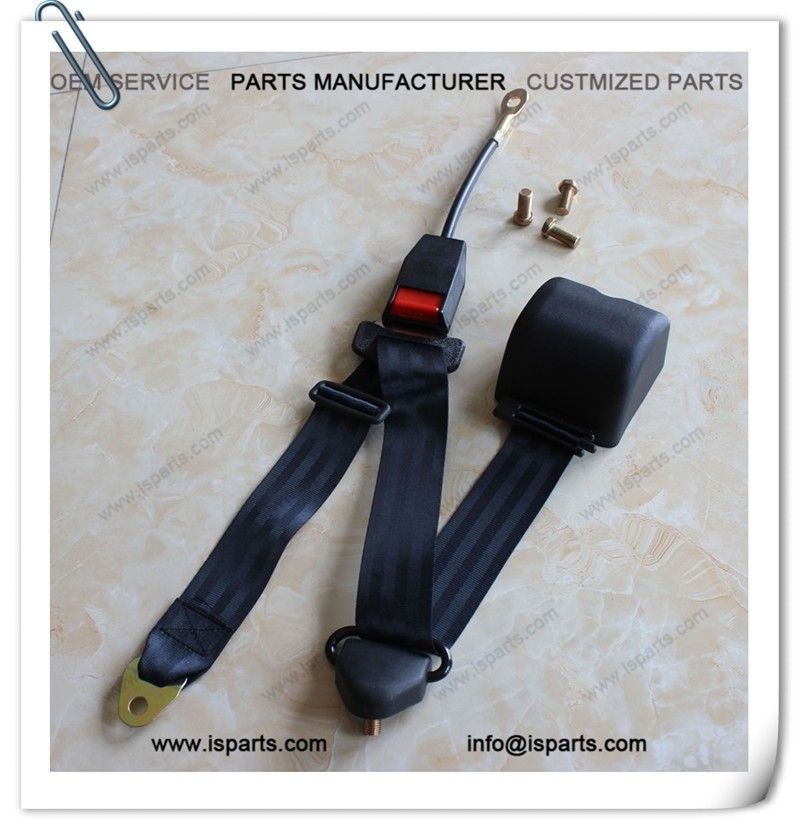 Racing Cart Automatic Emergency Locking Vehicle Seat belt 3 Points