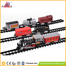 Home essential train track with light and music for kids