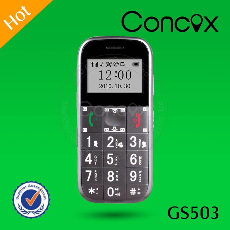 Satellite Tracking GPS Tracker Senior Citizen Cell Phone Concox GS503 LED Torch Senior Phone Loud Sound Mobile