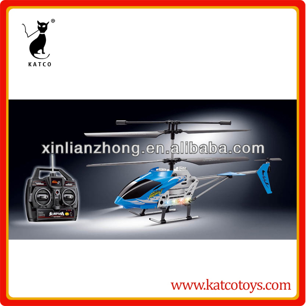 Control speed rc heli long flight time RC helicopter with light