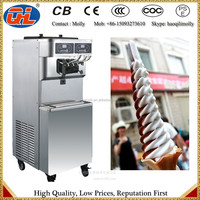 Stainless steel Ice Cream Machinery and soft ice cream maker
