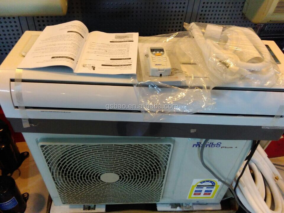 Stock cheap 18000BTU split air conditioner with T3 compressor
