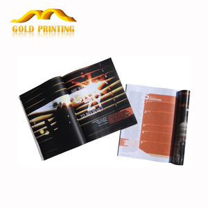 Cheap factory outlet product catalogue book and brochure printing service