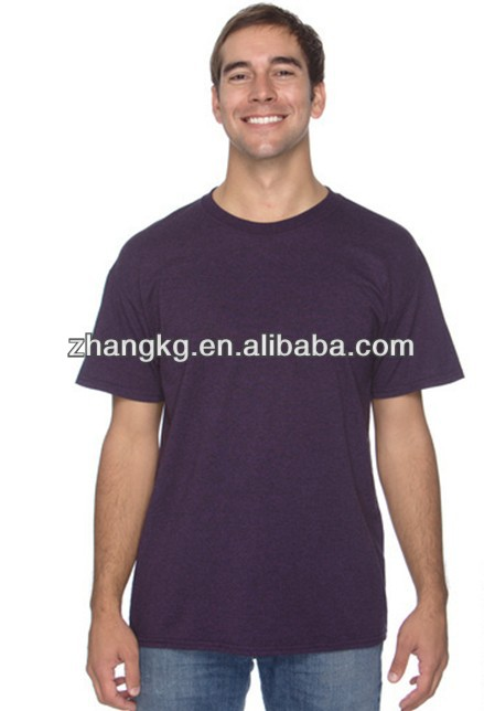 Plain euro size t shirt ,china custom-made t shirts for international persons