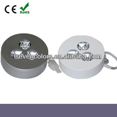 3 *1W LED Under Cabinet Showing Case Puck Light (SC-A109A)