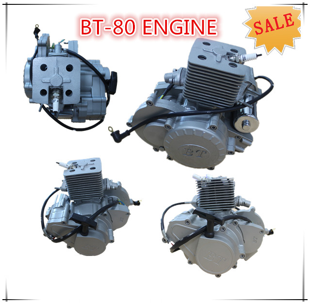 2 stroke gasoline bicycle engine kit /80cc moped engine