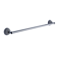 Single lever stainless steel bathroom towel rack, towel bar