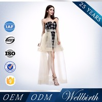 New Hot Selling Products Sequin Transparent See-Through Evening Dress